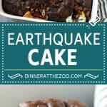 Earthquake Cake Recipe   Chocolate Cake Recipe   Chocolate Coconut Cake   Coconut Pecan Cake