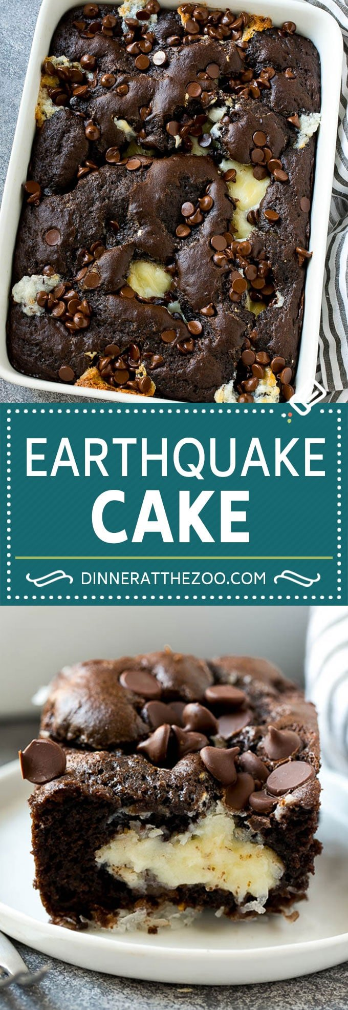 Earthquake Cake Recipe | Chocolate Cake Recipe | Chocolate Coconut Cake | Coconut Pecan Cake