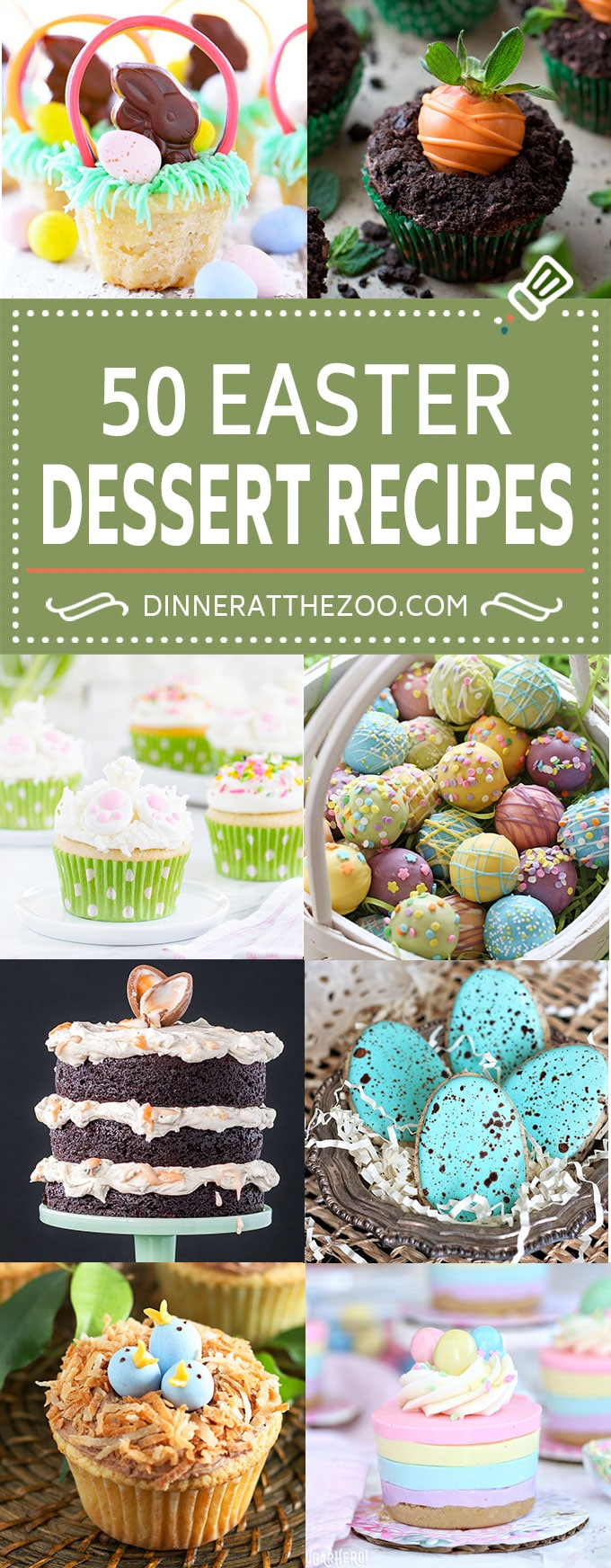 50 Easter Dessert Recipes