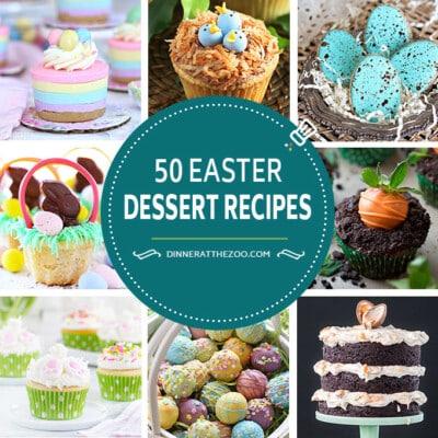 50 Festive Easter Dessert Recipes