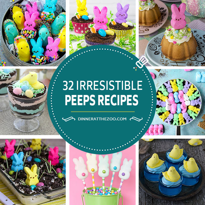 32 Easter Peeps Recipes
