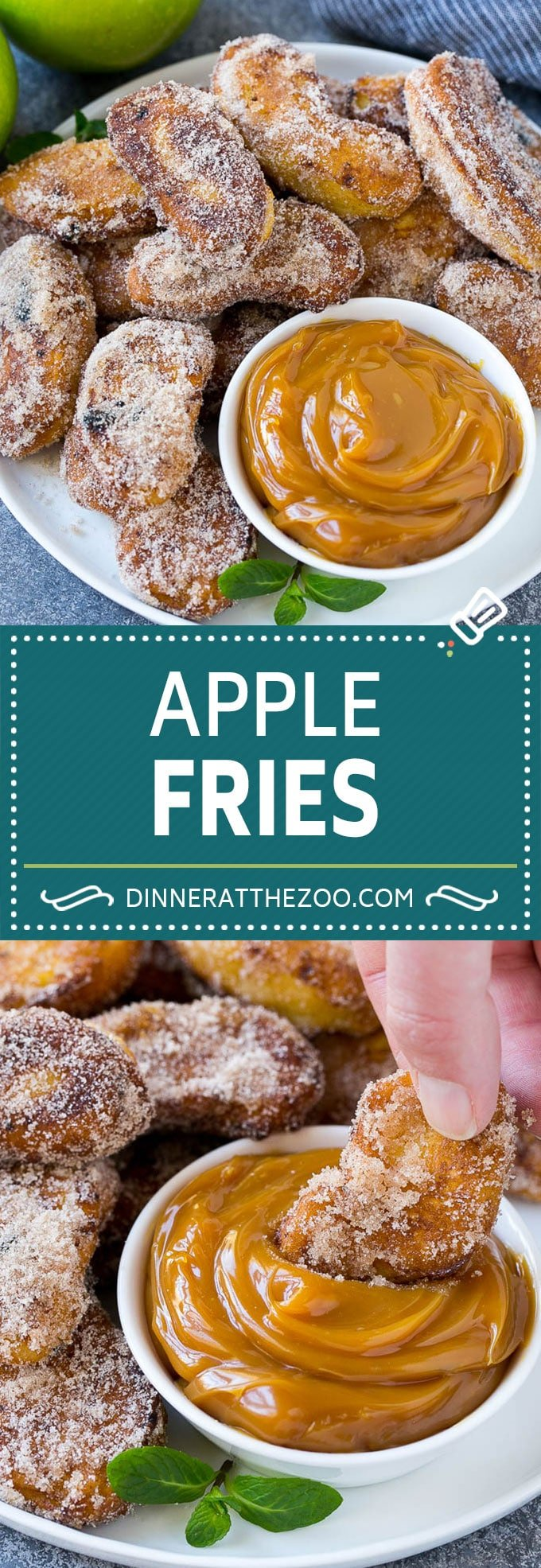 Apple Fries Recipe | Fried Apples Recipe | Cinnamon Sugar Apples | Apple Dessert Recipe #apples #dessert #dinneratthezoo #fall