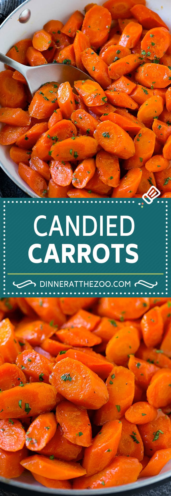 Candied Carrots Recipe | Carrot Side Dish | Brown Sugar Carrots | Glazed Carrots