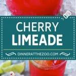 Cherry Limeade Recipe | Sonic Cherry Limeade | Limeade Recipe