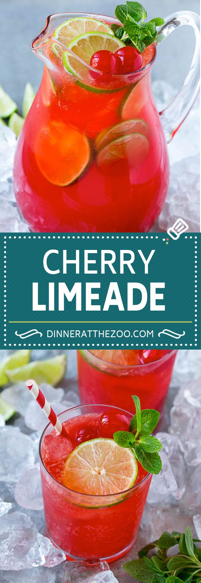 Cherry Limeade Recipe | Sonic Cherry Limeade | Limeade Recipe