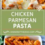 Chicken Parmesan Pasta Recipe | Baked Pasta Recipe | Chicken Pasta Recipe