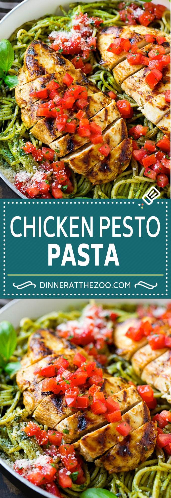 Chicken Pesto Pasta Recipe | Pesto Pasta with Chicken | Pasta with Pesto Sauce #chicken #pesto #pasta #dinner #dinneratthezoo