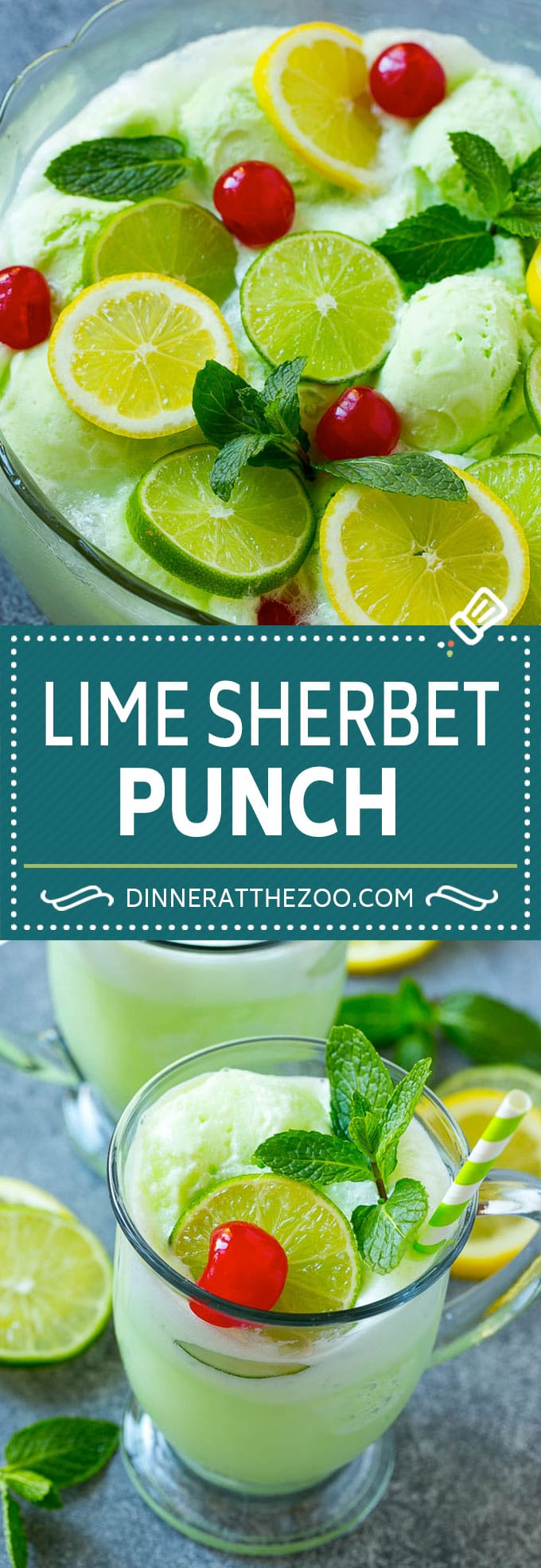 Lime Sherbet Punch | Party Punch Recipe | Sherbet Punch Recipe | Limeade Recipe #sherbet #punch #lime #drink #dinneratthezoo
