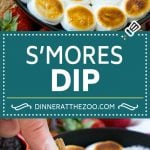 S'mores Dip Recipe | S'mores Skillet | Baked S'mores