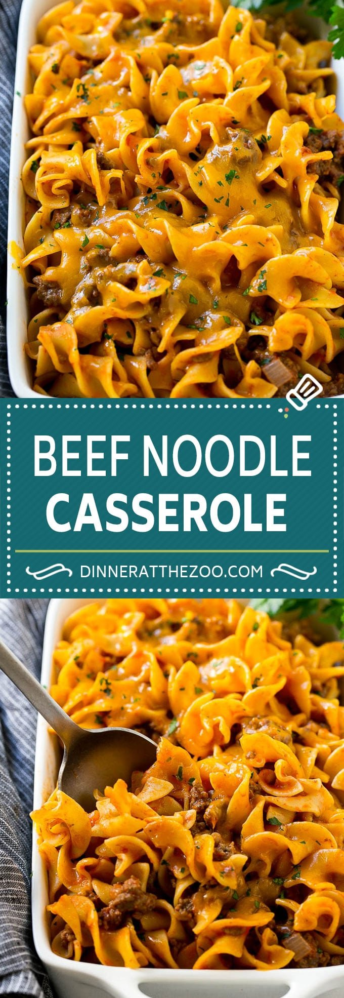 Beef Noodle Casserole Recipe | Ground Beef Casserole | Beef and Egg Noodles #hamburger #beef #noodles #casserole #dinner #dinneratthezoo