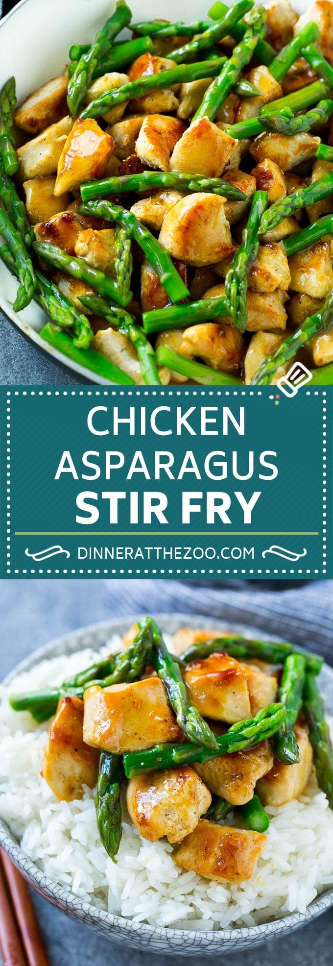 Chicken and Asparagus Stir Fry | Chicken Stir Fry | Easy Stir Fry | Asparagus Recipe #asparagus #chicken #stirfry #healthy #dinneratthezoo