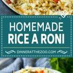 Homemade Rice a Roni Recipe | Rice Side Dish | Easy Rice Recipe #rice #sidedish