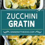 Zucchini Gratin Recipe   Cheesy Zucchini   Baked Zucchini   Easy Zucchini Recipe
