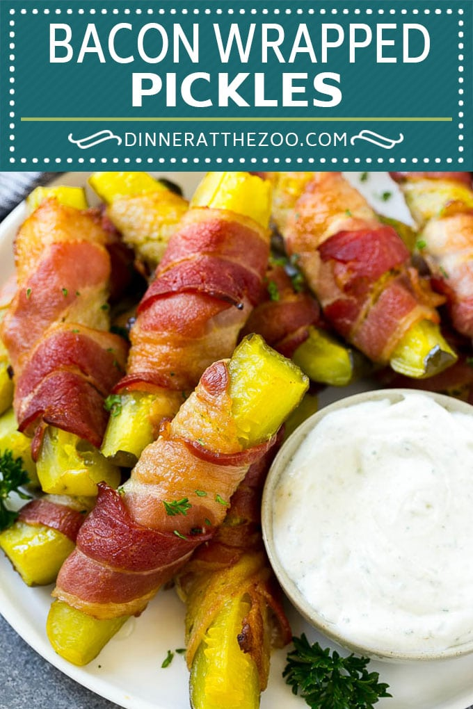 Bacon Wrapped Pickles Recipe | Pickle Fries | Low Carb Recipe #pickles #bacon #lowcarb #keto #dinneratthezoo