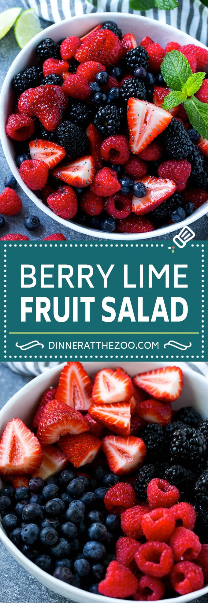 Berry Fruit Salad Recipe | Berry Salad | Summer Berry Salad | Fruit Salad Recipe #berries #fruitsalad #dinneratthezoo