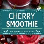 Cherry Smoothie Recipe | Healthy Smoothie | Easy Smoothie #cherry #smoothie #drink #dinneratthezoo