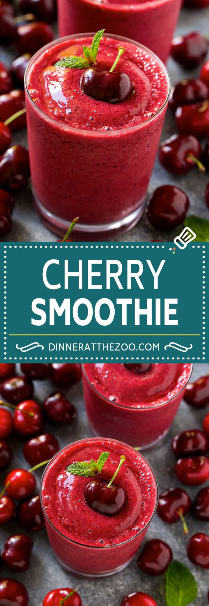 Cherry Smoothie Recipe | Healthy Smoothie | Easy Smoothie #cherry #smoothie #drink #dinneratthezoo