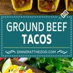 Ground Beef Tacos Recipe | Crispy Tacos | Beef Tacos #tacos #mexicanfood #tacotuesday #dinneratthezoo