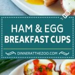 Ham and Egg Cups Recipe | Low Carb Breakfast | Ham and Eggs #ham #eggs #lowcarb #breakfast #dinneratthezoo