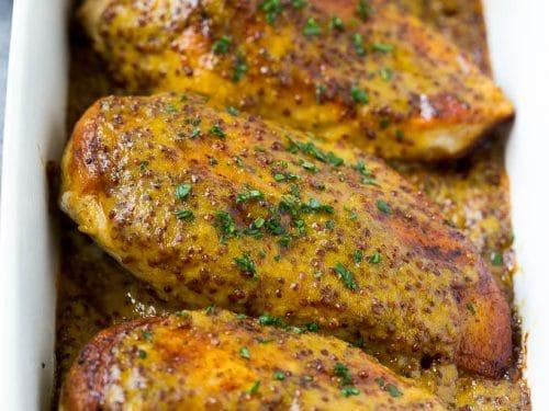 Honey Mustard Chicken Dinner At The Zoo