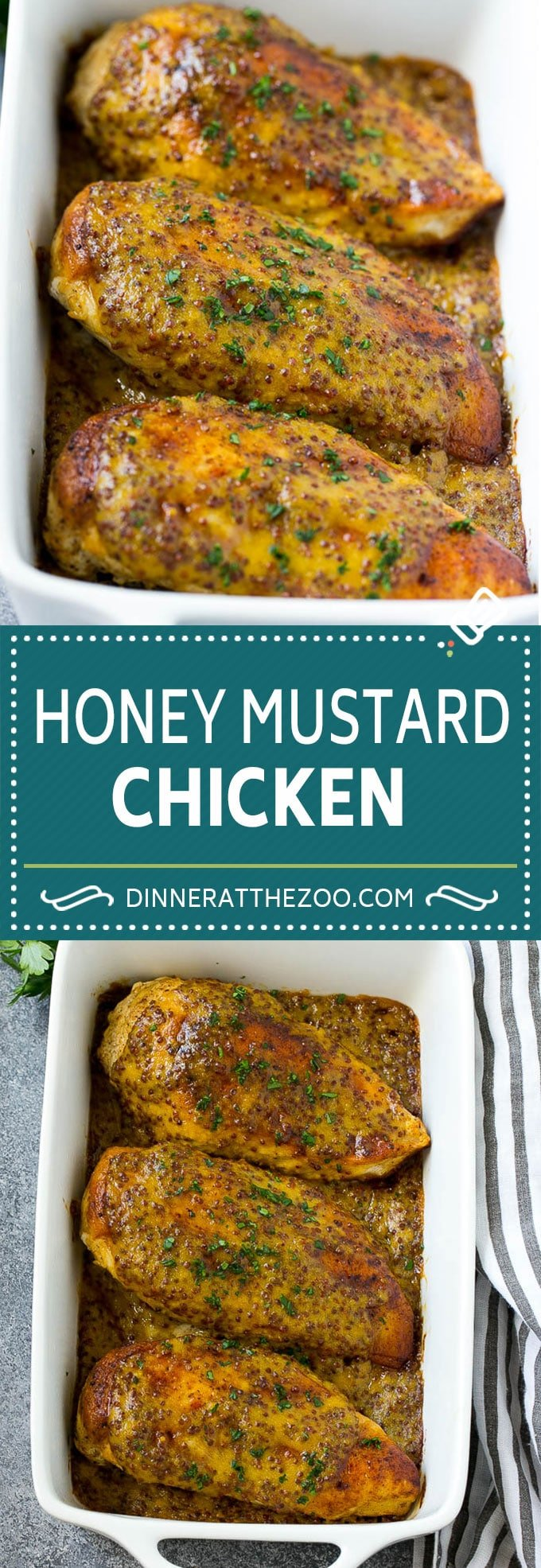 Honey Mustard Chicken Recipe | Baked Chicken Recipe | Easy Chicken Recipe #chicken #dinner #dinneratthezoo
