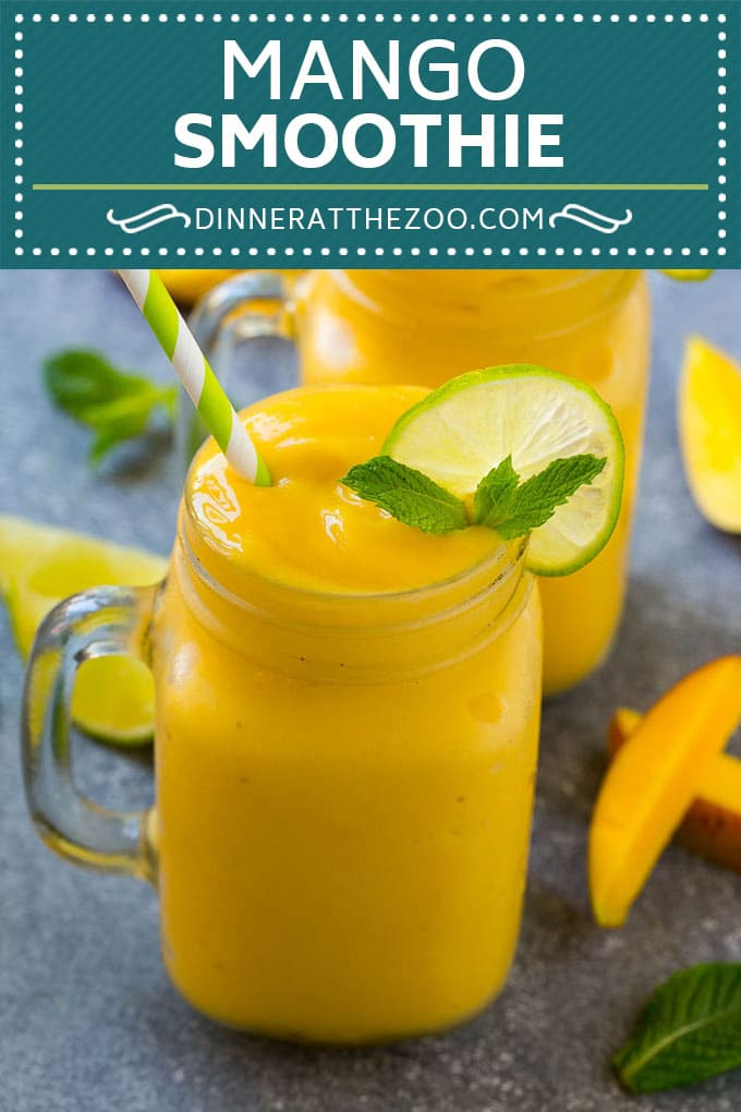Mango Smoothie Recipe | Mango Recipe | Healthy Smoothie #mango #smoothie #drink #dinneratthezoo