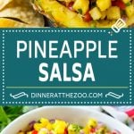 Pineapple Salsa Recipe | Fruit Salsa | Pineapple Recipe #pineapple #salsa #dinneratthezoo