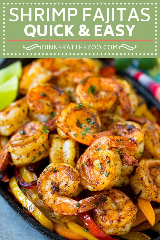 Shrimp Fajitas Recipe | Mexican Shrimp | Mexican Fajitas #fajitas #shrimp #mexicanfood #dinneratthezo