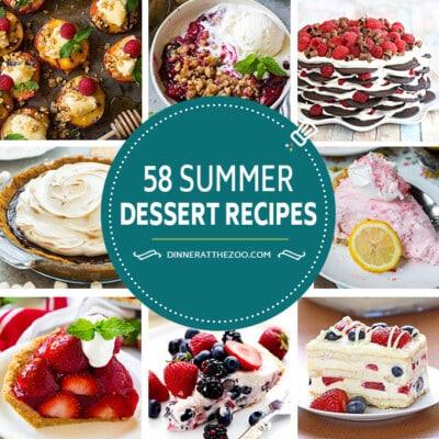 58 Summer Dessert Recipes