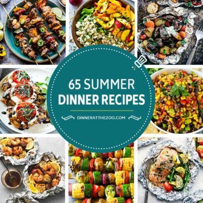 65 Summer Dinner Recipes