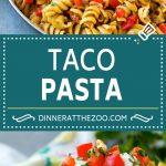 Taco Pasta Recipe | Cheesy Pasta| Mexican Pasta #taco #pasta #dinneratthezoo