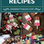 40 Popsicle Recipes | Frozen Dessert Recipes | Ice Pop Recipes #popsicles #frozen #dessert #dinneratthezoo