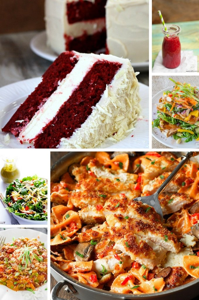 Cheesecake Factory restaurant recipes including salads, chicken and red velvet cheesecake.