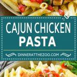 Cajun Chicken Pasta Recipe   Chili's Copycat Recipe   Cajun Chicken   Creamy Chicken Pasta #chicken #pasta #dinneratthezoo