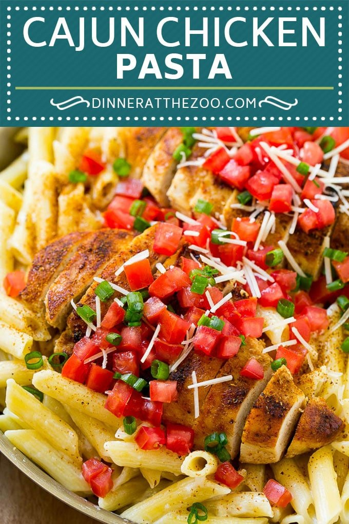 Cajun Chicken Pasta Recipe | Chili's Copycat Recipe | Cajun Chicken | Creamy Chicken Pasta #chicken #pasta #dinneratthezoo
