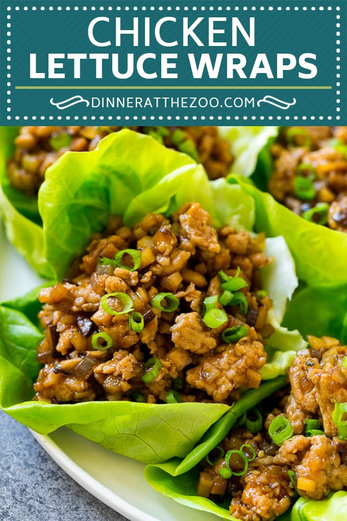 Chicken Lettuce Wraps Recipe | PF Chang's Lettuce Wraps | Chicken Lettuce Cups #lettuce #chicken #asianfood #takeout #dinner #dinneratthezoo
