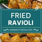 Fried Ravioli Recipe   Toasted Ravioli   Ravioli Recipe   Italian Appetizer #ravioli #appetizer #italian #pasta #dinneratthezoo