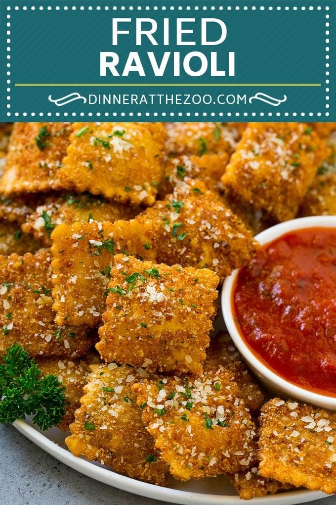 Fried Ravioli Recipe | Toasted Ravioli | Ravioli Recipe | Italian Appetizer #ravioli #appetizer #italian #pasta #dinneratthezoo