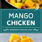 Mango Chicken Recipe   Chicken with Mango   Chicken Stir Fry #chicken #mango #stirfry #peppers #dinner #healthy #dinneratthezoo