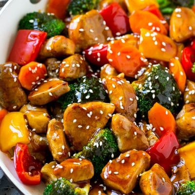 Teriyaki Pork Stir Fry