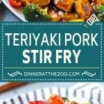 Teriyaki Pork Stir Fry Recipe | Pork Stir Fry | Easy Pork Recipe | Teriyaki Pork #teriyaki #pork #stirfry #asianfood #healthy #dinner #dinneratthezoo