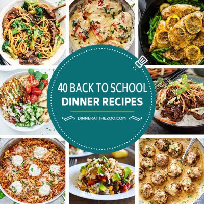 40 Back to School Recipes