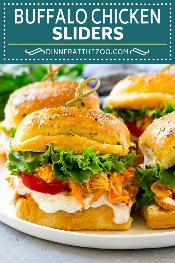Buffalo Chicken Sliders Recipe | Buffalo Chicken Sandwich | Buffalo Chicken #buffalochicken #sliders #sandwich #appetizer #snack #dinneratthezoo