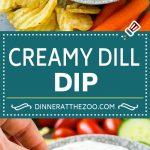 Dill Dip Recipe | Potato Chip Dip | Creamy Dip #dip #chips #snack #appetizer #dinneratthezoo