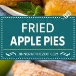 Fried Apple Pies Recipe | McDonald's Copycat Recipe | Apple Pie | Apple Hand Pies #pie #apples #applepie #dessert #snack #dinneratthezoo