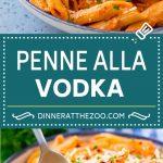 Penne alla Vodka Recipe | Creamy Tomato Pasta | Pasta in Vodka Sauce #pasta #tomato #dinner #dinneratthezoo #italianfood