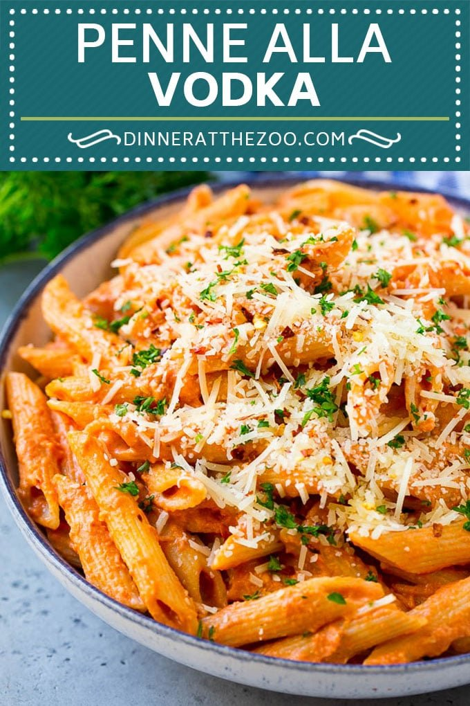 Penne alla Vodka Recipe | Creamy Tomato Pasta | Pasta in Vodka Sauce #pasta #tomato #dinner #dinneratthezoo #italianfood