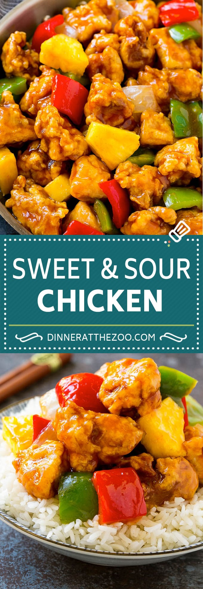 Sweet And Sour Chicken Dinner At The Zoo