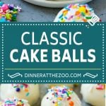 Cake Balls Recipe | Cake Truffles | Cake Bites #cake #dessert #sweets #dinneratthezoo
