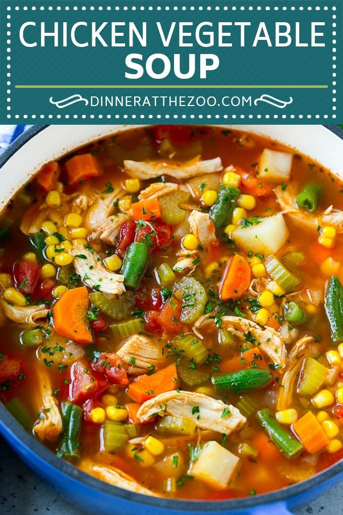 Chicken Vegetable Soup Recipe | Chicken Soup | Healthy Soup | Vegetable Soup #chicken #soup #vegetables #healthy #cleaneating #dinner #dinneratthezoo